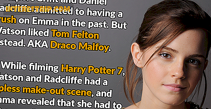 26 Magical Facts about Emma Watson