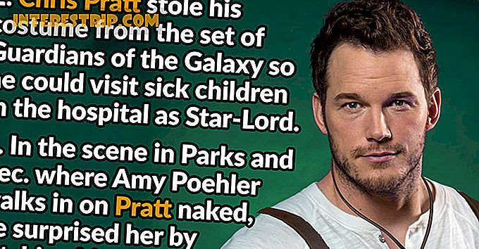 28 Fantastische weetjes over Chris Pratt