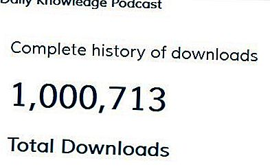 En million downloads