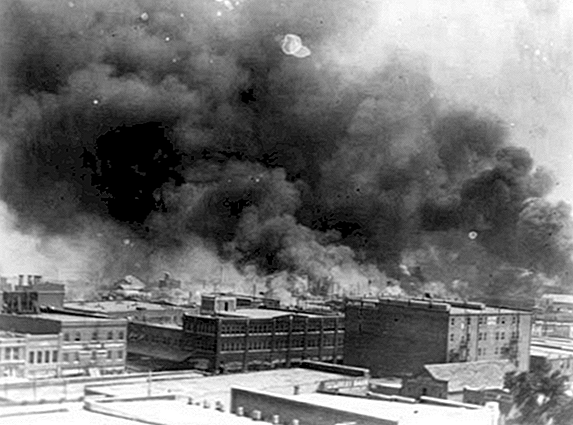 The Largely Forgotten Tulsa Race Riot af 1921