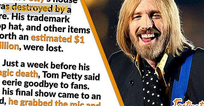 26 Faits saillants sur Tom Petty