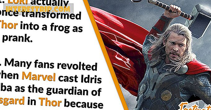32 Mighty Facts about Thor
