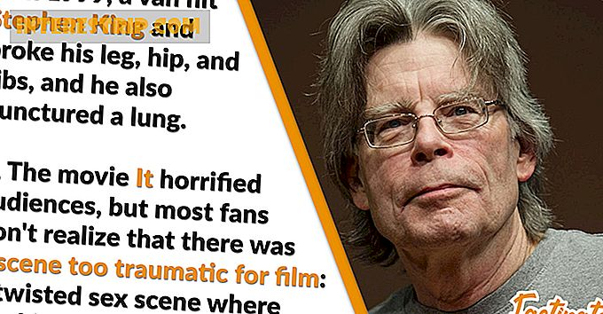 40 Datos espeluznantes sobre Stephen King