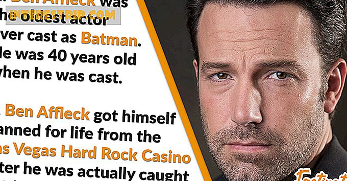42 Behind-the-scenes Feiten over Ben Affleck