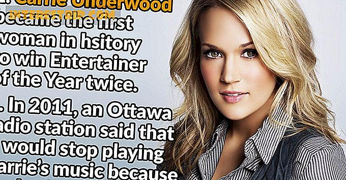 "31 Fakta om Carrie Underwood, der efterlader dig ""Blown Away"""