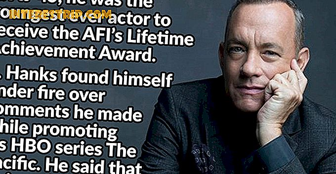 32 De fapte despre legendele actuale Tom Hanks