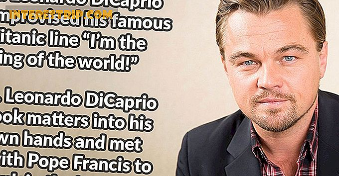 33 Little Known Facts about Leonardo DiCaprio.