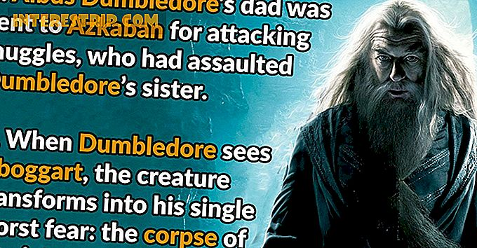 28 Magical Facts about Albus Dumbledore.