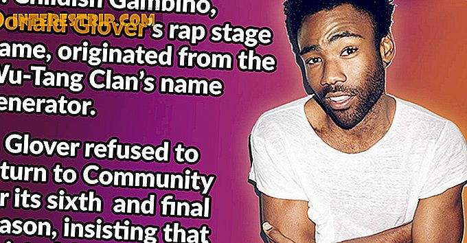 30 Kinderachtige feiten over Donald Glover