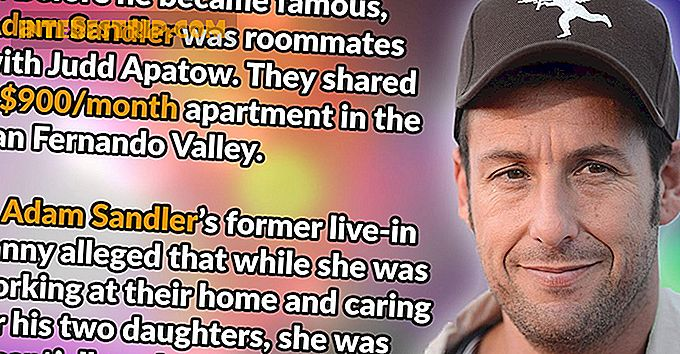 28 Goofy Facts about Adam Sandler.