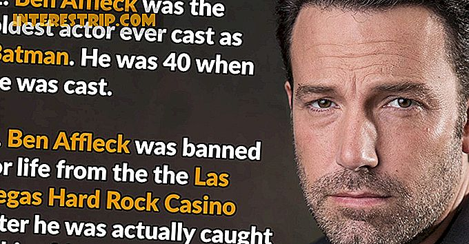43 Bag-the-scenes Fakta om Ben Affleck