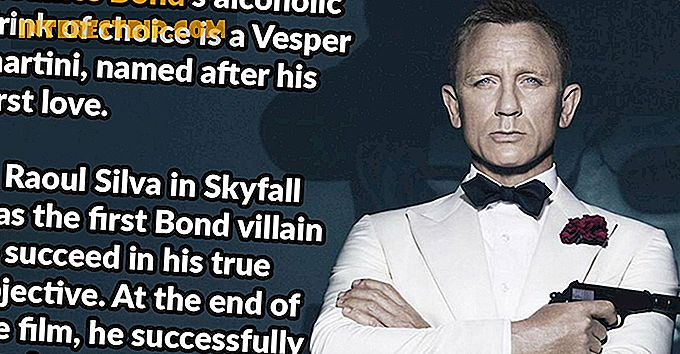 57 Shaken-not-Stirred Fakta om James Bond.