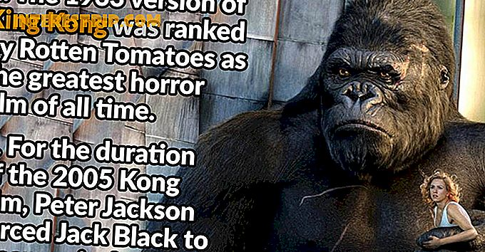 31 Little-known Fakta om King Kong