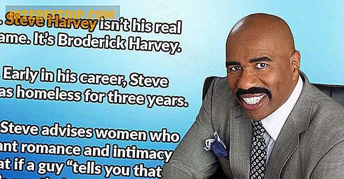 25 Steve Harvey'i faktid Steve Harvey