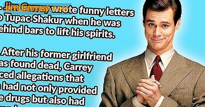 28 Wacky Feiten over Jim Carrey.