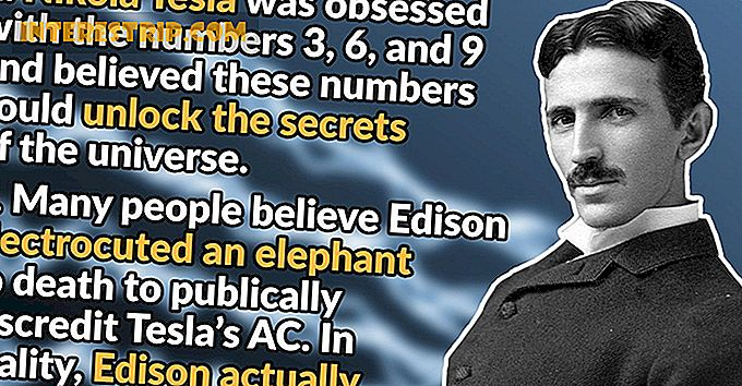 30 Electrifying Facts Fakta om Nikola Tesla