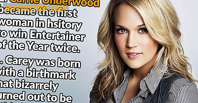 "34 Fakta om Carrie Underwood som vil forlate deg ""Blown Away"""