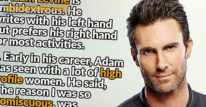 35 Facts about Adam Levine
