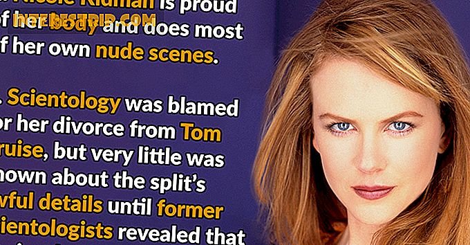 43 Little Known Facts Nicole Kidman