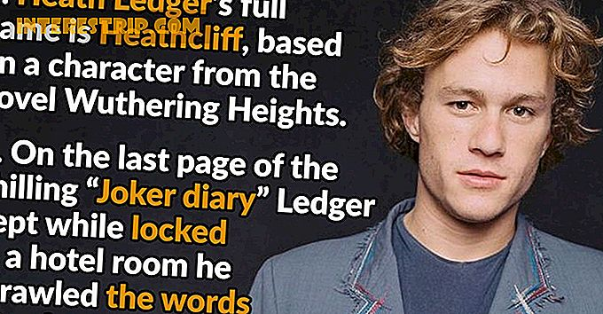 45 Fatos sobre Heath Ledger