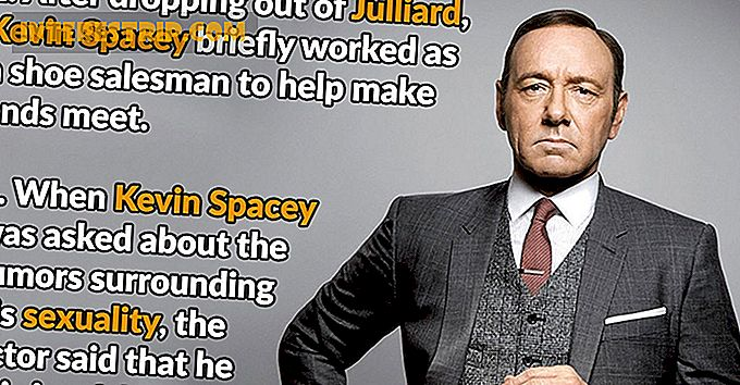 49 Datos inusuales sobre Kevin Spacey