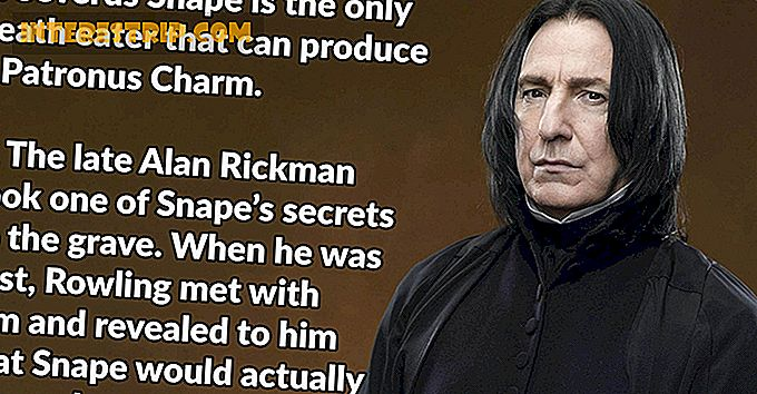 23 Magical Facts about Professor Snape