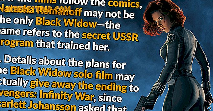 26 Hechos venenosos sobre Black Widow