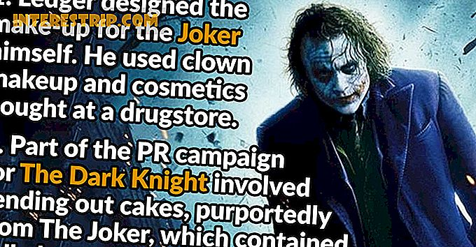 29 Hechos insanos sobre The Dark Knight