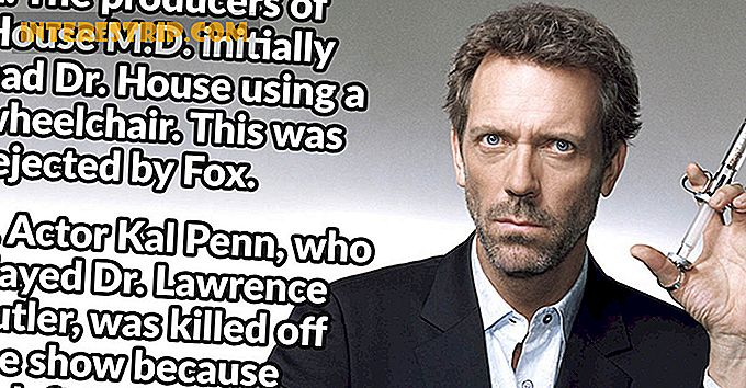32 Datos de Standoffish sobre House MD
