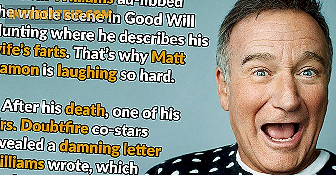 37 Hilarische en hartverwarmende feiten over Robin Williams Films