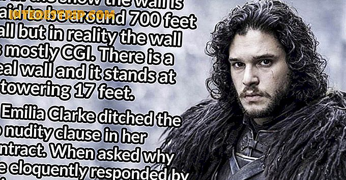 40 Fiery Fakta om Game of Thrones