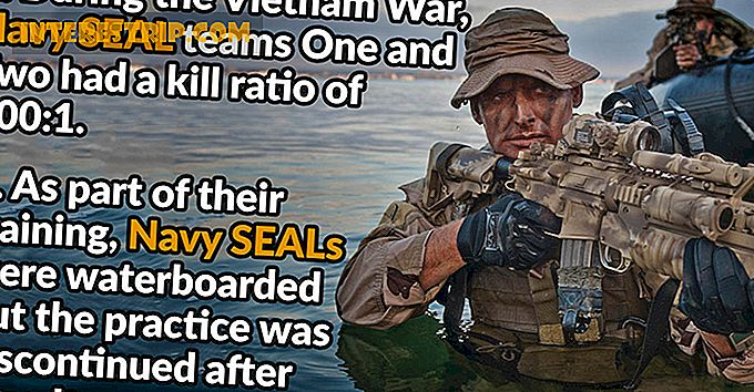 42 Badass Datos sobre Navy SEALs