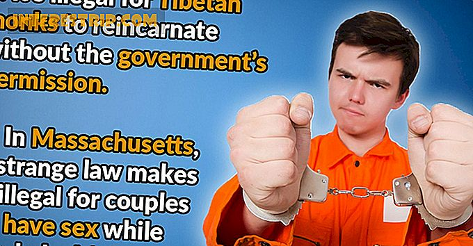 42 Weird Laws Around the World.