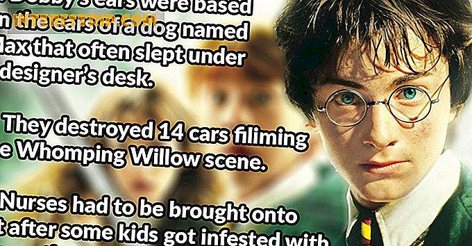 43 Petrifying Facts su Harry Potter e la camera dei segreti.