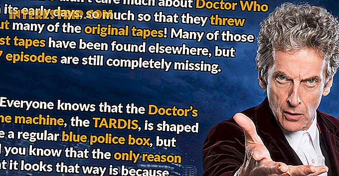 50 Wibbly Wobbly Timey Wimey Datos sobre Doctor Who