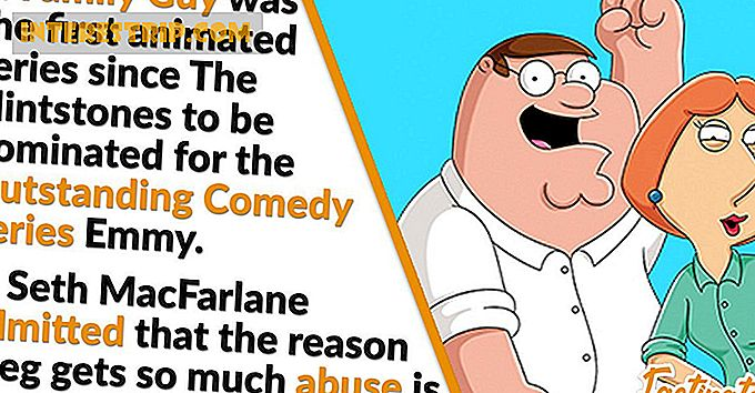 42 Good Old Fashioned Facts sobre Family Guy